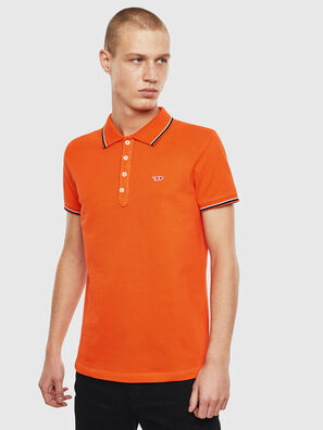 T-RANDY-NEW, Orange - Polohemden
