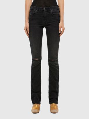 Slandy-B 069QN, Schwarz/Dunkelgrau - Jeans
