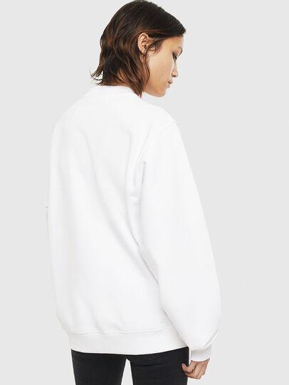 Diesel - F-ANG-S3, Weiß - Sweatshirts - Image 2