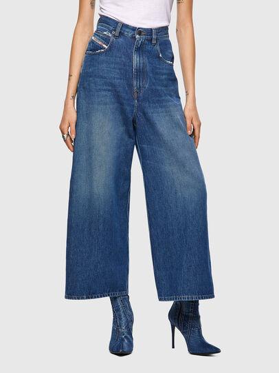 Diesel - D-Luite 09A82, Bleu moyen - Jeans - Image 1
