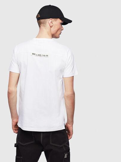 Diesel - T-RABEN-POCKET, Weiß - T-Shirts - Image 2