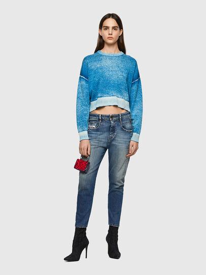 Diesel - Fayza 09A08, Blu medio - Jeans - Image 5