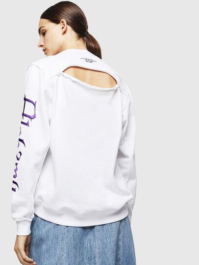 Diesel - F-LYANYDY-A, Weiß - Sweatshirts - Image 2