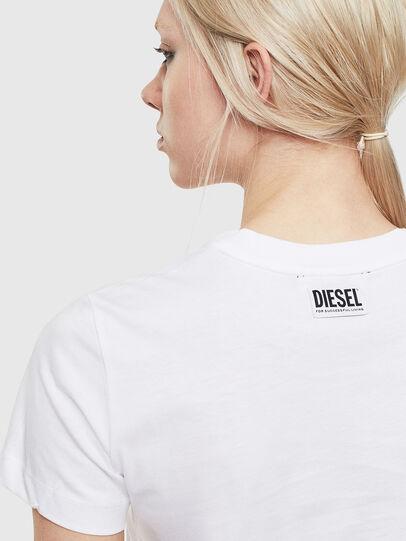Diesel - T-SILY-S5, Weiß - T-Shirts - Image 3