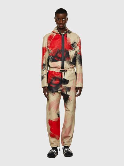 Diesel - P-TOLLER-CMF, Rouge/Blanc - Pantalons - Image 5