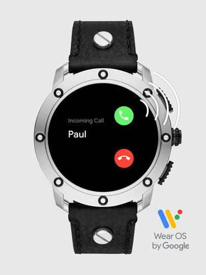 Diesel - DT2014, Schwarz/Silber - Smartwatches - Image 7