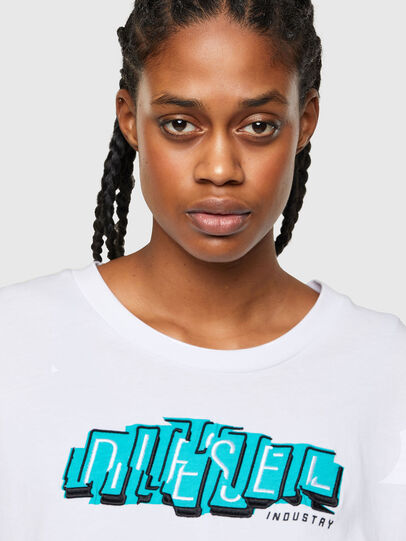 Diesel - T-BOWLESS-A1, Blanc - T-Shirts - Image 3