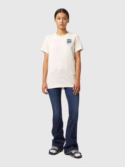 Diesel - T-LILLY-B1, Blanc - T-Shirts - Image 4