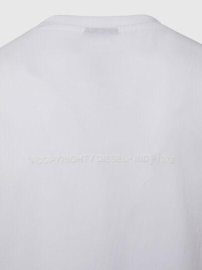 Diesel - T-TUBOLAR-X20, Weiß - T-Shirts - Image 4