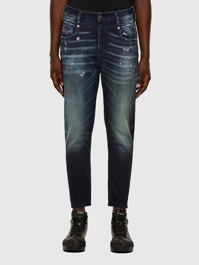 Diesel - FAYZA JoggJeans® 069PZ, Dunkelblau - Jeans - Image 1