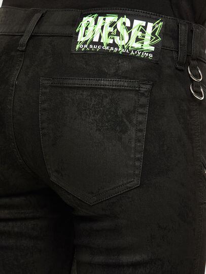 Diesel - Slandy 069NG, Schwarz/Dunkelgrau - Jeans - Image 5