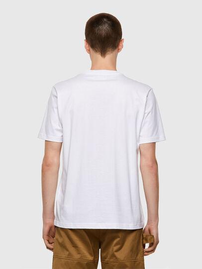 Diesel - T-JUST-B53, Blanc - T-Shirts - Image 2