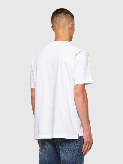 Diesel - T-JUST-SLITS-X85, Weiß - T-Shirts - Image 6
