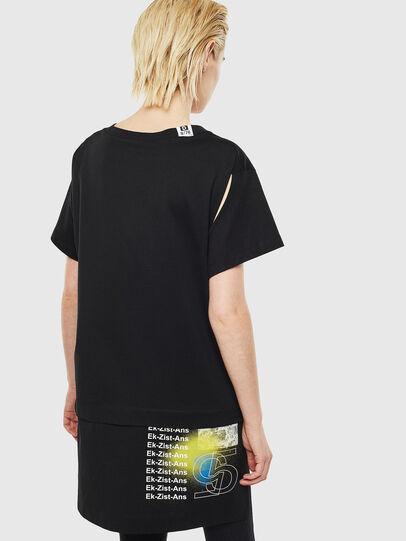 Diesel - T-SHALIE, Schwarz - T-Shirts - Image 2