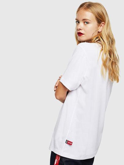 Diesel - CC-T-JUST-COLA, Weiß - T-Shirts - Image 4