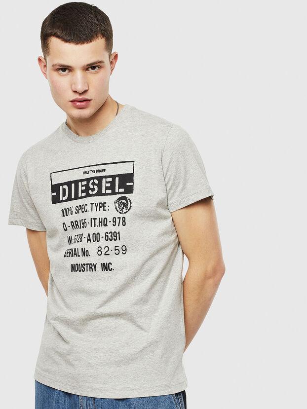 T-DIEGO-S1, Grau - T-Shirts