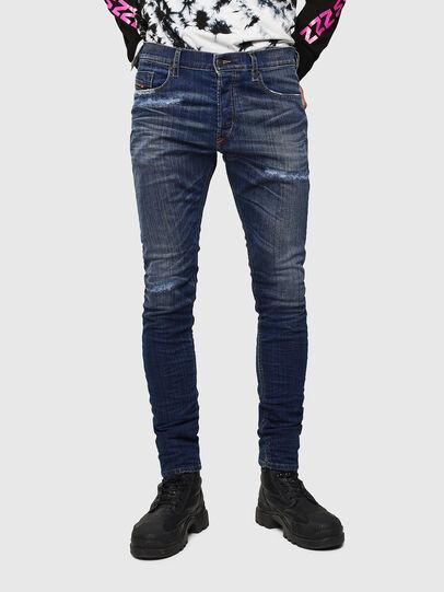 Diesel - Tepphar 0098N, Dunkelblau - Jeans - Image 1