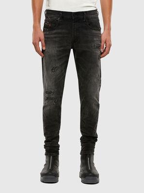 D-Strukt 069RC, Schwarz/Dunkelgrau - Jeans