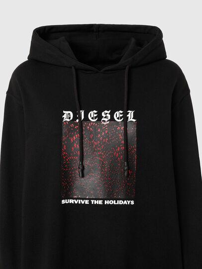 Diesel - UMLT-BRANDON, Schwarz - Sweatshirts - Image 3