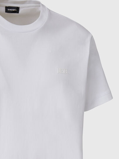 Diesel - T-DIAMANTIK-NEW2, White - T-Shirts - Image 3