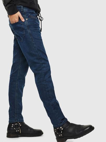 Diesel - Thommer JoggJeans 0688J, Dunkelblau - Jeans - Image 5
