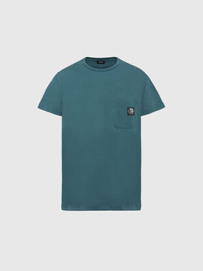 T-WORKY-MOHI, Wassergrün - T-Shirts