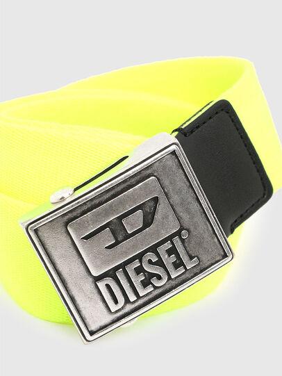 Diesel - B-METALTAPE, Yellow - Belts - Image 2