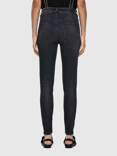 Diesel - Slandy High 069RL, Black/Dark grey - Jeans - Image 2