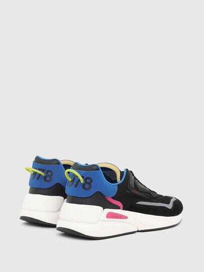 Diesel - S-SERENDIPITY SM, Nero/Blu - Sneakers - Image 3