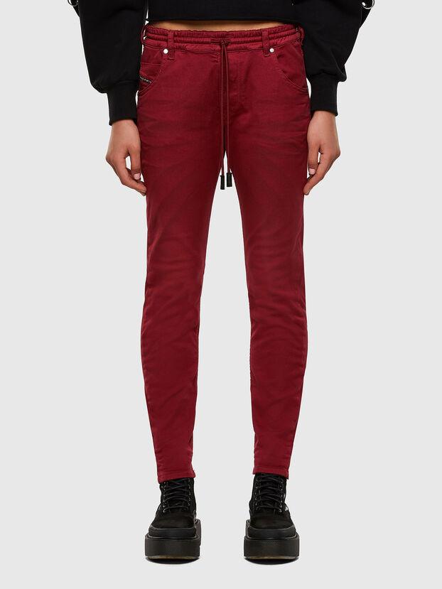 Krailey JoggJeans 0670M, Rot - Jeans