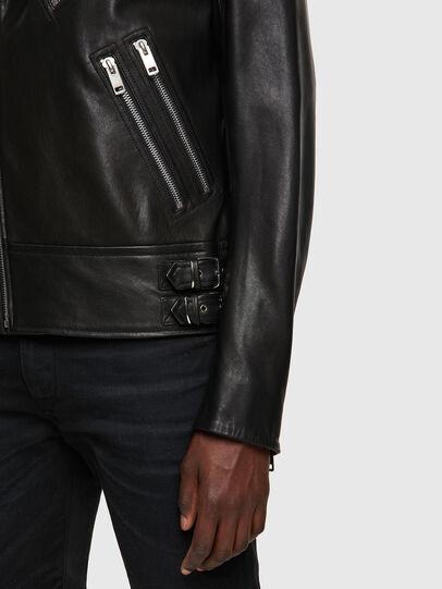 Diesel - L-GARRETT-A, Noir - Vestes de cuir - Image 3