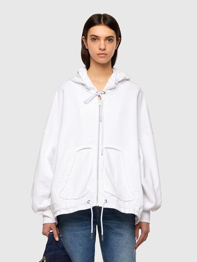Diesel - F-BILLY-LOGO, White - Sweaters - Image 1