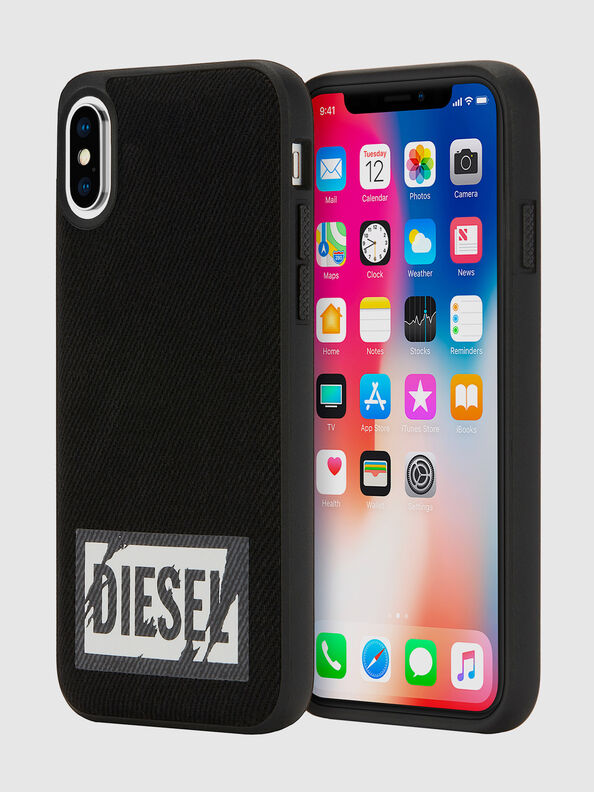 BLACK DENIM IPHONE X CASE,  - Schutzhüllen