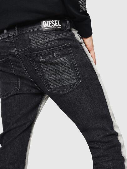 Diesel - Sleenker 082AX, Schwarz/Dunkelgrau - Jeans - Image 5
