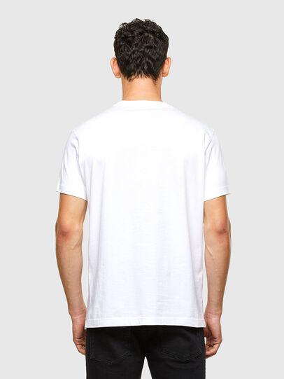 Diesel - T-DIEGOS-A1, Bianco - T-Shirts - Image 2