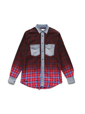 D-DEEPCHECK-B, Rot - T-Shirts