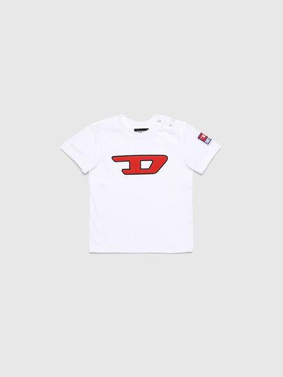 Diesel - TJUSTDIVISIONB-D, Weiß - T-Shirts und Tops - Image 1