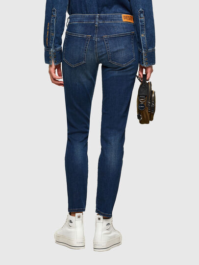 Diesel - D-Jevel 009HL, Blu Scuro - Jeans - Image 2