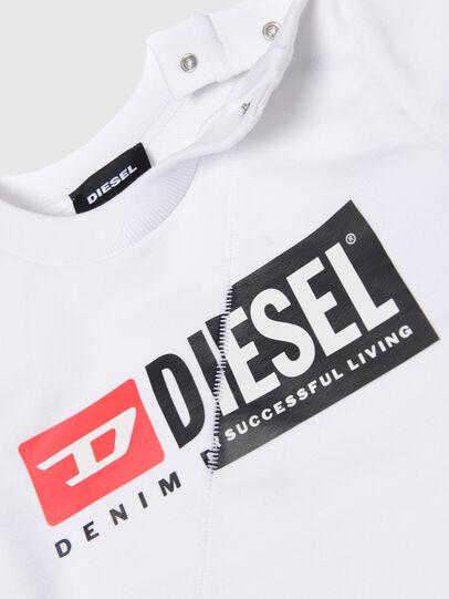 Diesel - SGIRKCUTYB, Blanc - Pull Cotton - Image 3