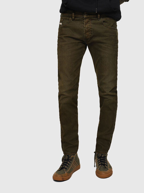 D-Bazer 0091T, Armeegrün - Jeans