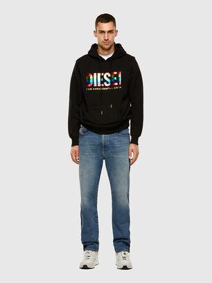 S-GIR-HOOD-P, Schwarz - Sweatshirts