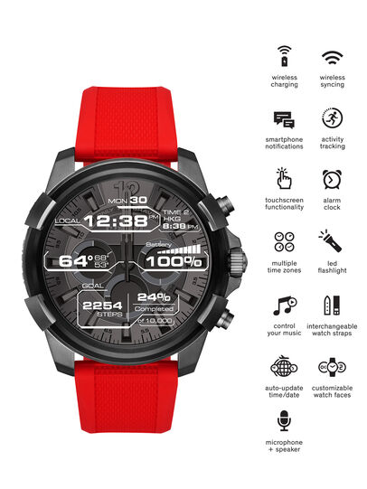 Diesel - DT2006, Rot - Smartwatches - Image 1