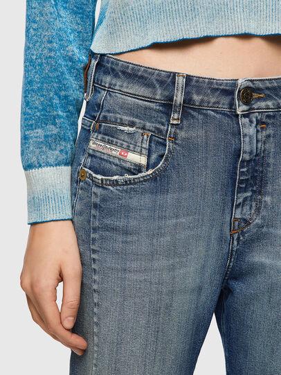 Diesel - Fayza 09A08, Blu medio - Jeans - Image 4