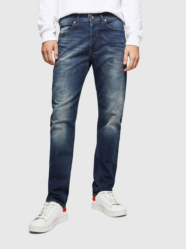 Buster 0853R, Dunkelblau - Jeans