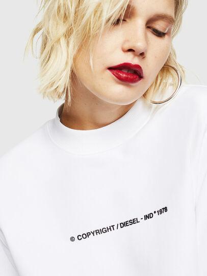 Diesel - F-ANG-COPY, Weiß - Sweatshirts - Image 3