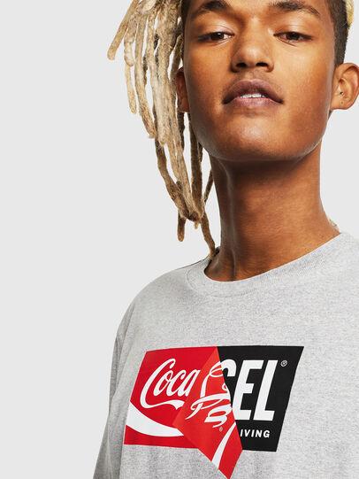 Diesel - CC-T-JUST-COLA, Grau - T-Shirts - Image 5
