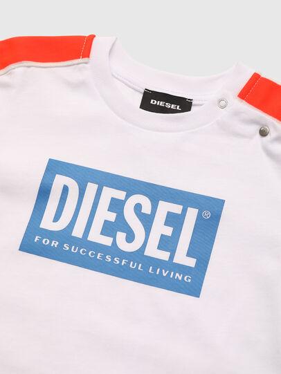 Diesel - TANGEB, Blanc - T-shirts et Hauts - Image 3