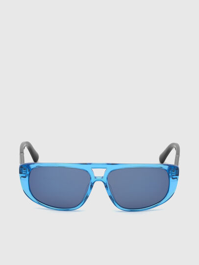 Diesel - DL0306, Blau/Schwarz - Kid Brillen - Image 1