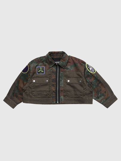Diesel - JANAPAY, Camouflagegrün - Jacken - Image 1