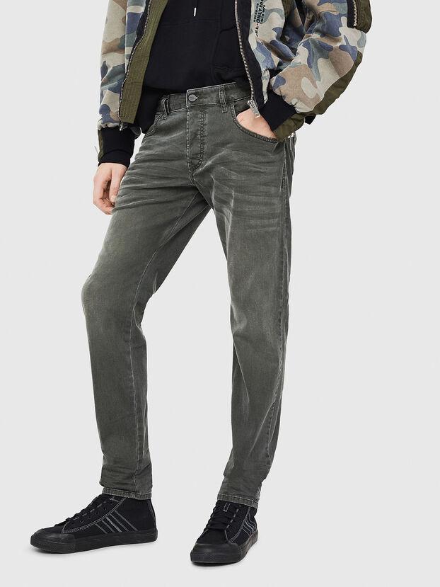 D-Bazer 0699P, Dunkelgrün - Jeans